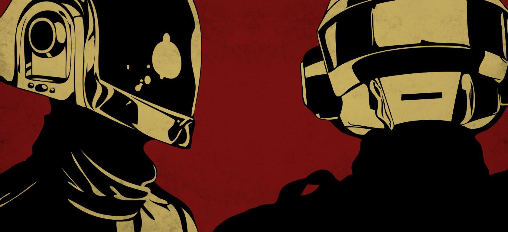 Daft Punk Red