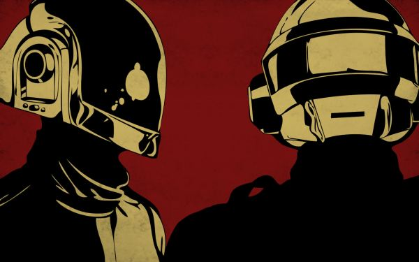 Daft Punk Red