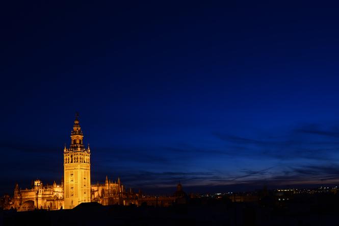 Seville Night Sky