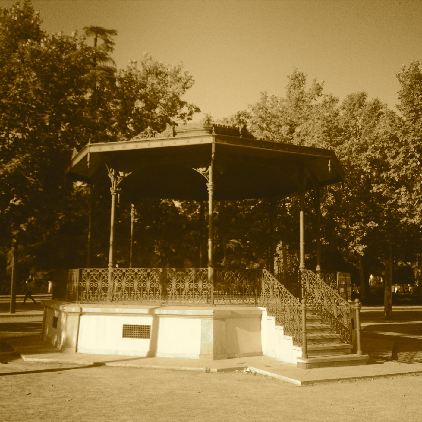 The Empty Bandstand