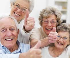 Smiling Pensioners